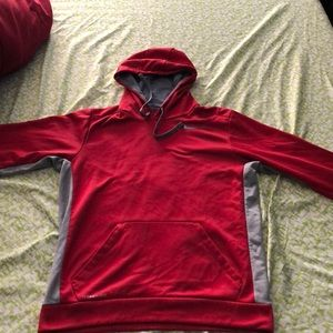 Red Nike Therma-Fit Jacket